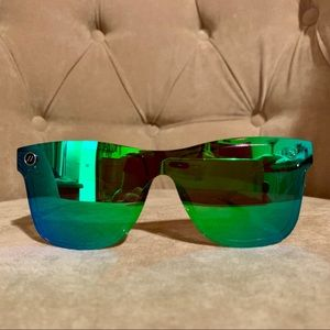 New Blenders Millenia sunglasses: green, polarized